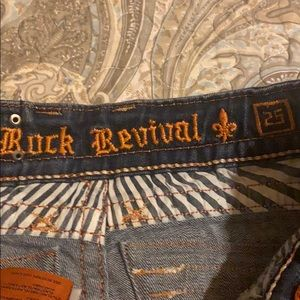 Rock Revival Shorts - Rock revival cut off shorts